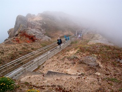 Stairway to Point Reyes Lighthouse