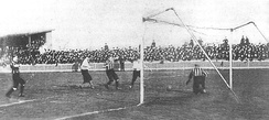 Northumberland Park, 28 January 1899, Spurs vs Newton Heath (later renamed Manchester United)