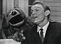 Jimmy Dean and Rowlf the Dog