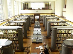 Reading Room, British Architectural Library, RIBA, 66 Portland Place, London