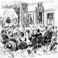 The Gondoliers performed before Queen Victoria at Windsor Castle in 1891