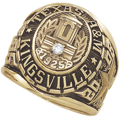 Javelina class ring for 2008