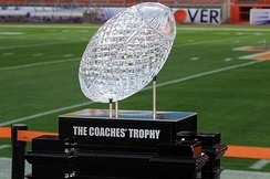 The AFCA National Championship Trophy