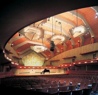 Winspear Hall, inside the Murchison Performing Arts Center