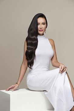 The model, singer and actress Djamilya Abdullaeva – who shot to prominence after appearing on the hit KBS show Misuda – is one of a number of Uzbek women who have forged successful careers in South Korea's globally exported pop culture industry.[92]
