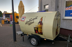 Kvass trailer in Grodno (2019)