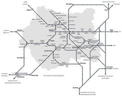 West Yorkshire network