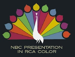 Title card used by NBC in the 1950s, promoting their color broadcasts.