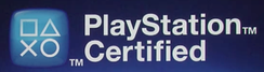 Official logo for PlayStation Certified