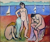 Les trois baigneuses (Three Bathers), 1907, The Minneapolis Institute of Arts[32]