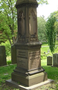 Crowninshield's grave at Mount Auburn