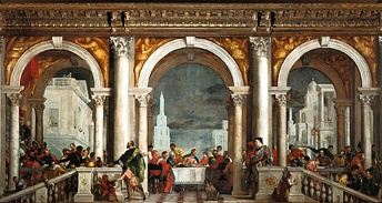 Paolo Veronese's Last Supper (The Feast in the House of Levi)