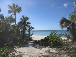 Barefoot Beach Preserve, a Collier County park