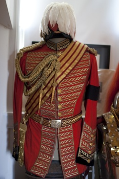 Dress uniform of the Master of the Horse.