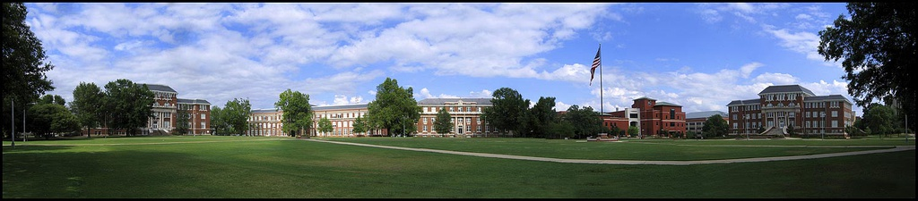 The Drill Field and surrounding buildings