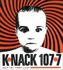 "KNNC's early 90s ""Psychobaby"" logo."
