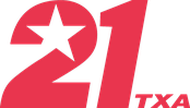 Second TXA 21 logo, used from 2012 to 2018.