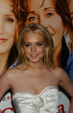 Lohan at the New York City premiere of Georgia Rule in May 2007.