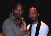 Jamie Foxx and Kuk Harrell