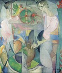 The Woman at the Well, 1913, 145 × 125 cm. Museo Nacional de Arte