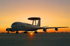 E-3 deployed in support of U.S. global operations