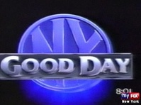 Good Day New York's inaugural logo, used from August 1, 1988 to 1991.