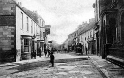 Wetherby High Street in 1900