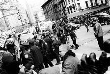 Protesters against the Iraq War in New York.