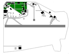 Map of the airport