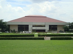 The Batasang Pambansa Complex is the seat of the House of Representatives.