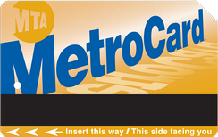 The current MetroCard design