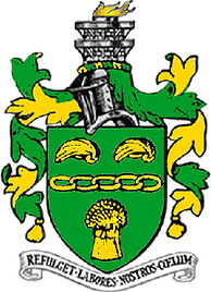 Arms of former municipal borough of Scunthorpe
