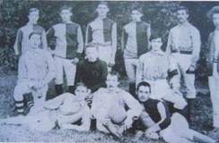 The Second XI team, in 1886