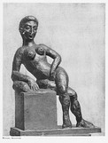Henri Matisse, 1908, Figure décorative, bronze