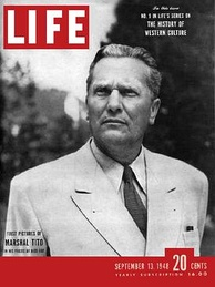 Cover of the September 13, 1948, issue of Life with Marshal Josip Broz Tito