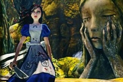 Alice as seen in Madness Returns, wielding the Vorpal Blade.