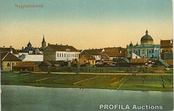 Old postcard of Zrenjanin