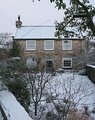 Westow cottage in Snow