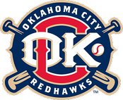 Oklahoma City RedHawks logo from 2009 to 2014
