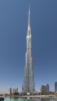 Burj Khalifa, the world's tallest man-made structure