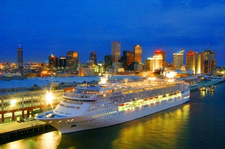 The Port of New Orleans has a cruise terminal that accommodates cruise lines such as Carnival, Norwegian, and ACCL.