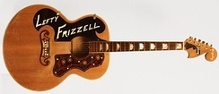 Frizzell's custom guitar