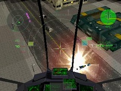 The game is based around piloting aircraft and shooting enemies.