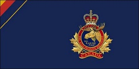 The camp flag of the Algonquin Regiment.