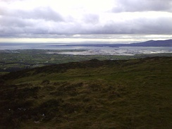The mouth of Carlingford Lough from Knockree.