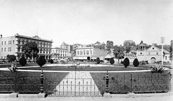 Los Angeles Plaza and Pico House (1890)