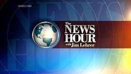 The final title sequence as The NewsHour with Jim Lehrer, used from May 17, 2006, to December 6, 2009