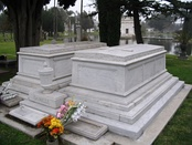 DeMille's tomb at Hollywood Forever Cemetery
