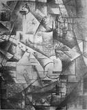 "Georges Braque, 1911, Nature morte (Still Life), Reproduced in Du ""Cubisme"", by Albert Gleizes and Jean Metzinger, 1912"