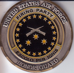 The emblem of the Firing Party element, created in 2000.